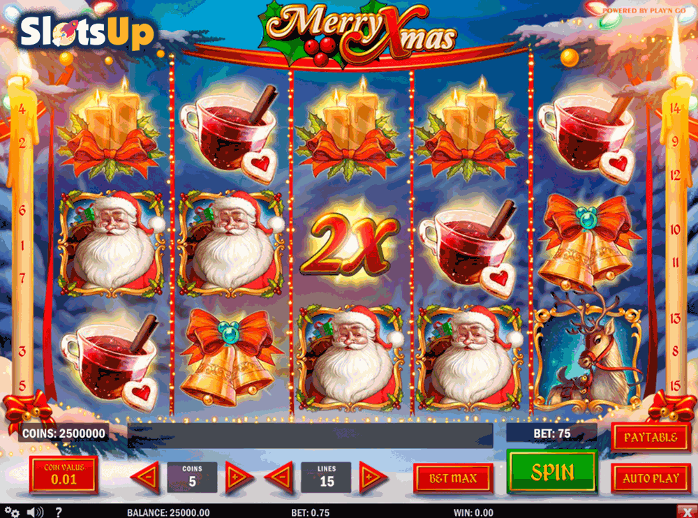 Merry Xmas Slots - Free Online Yoyougaming Slot Machine Game