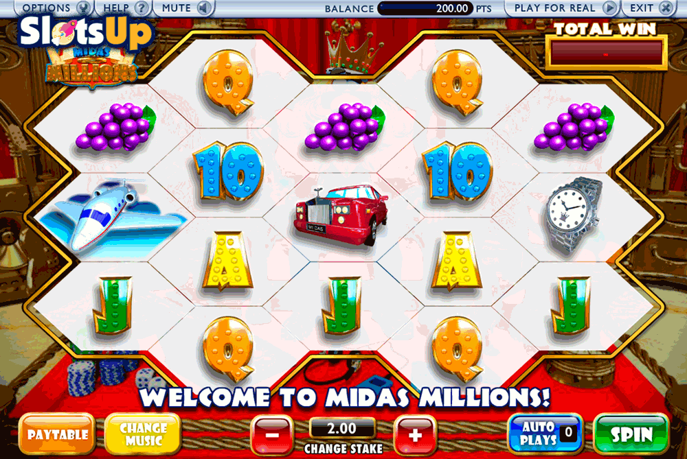 Midas Millions™ Slot Machine Game to Play Free in AshGamings Online Casinos