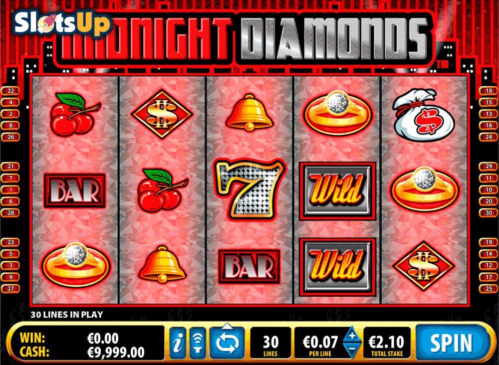 midnight diamonds bally casino slots