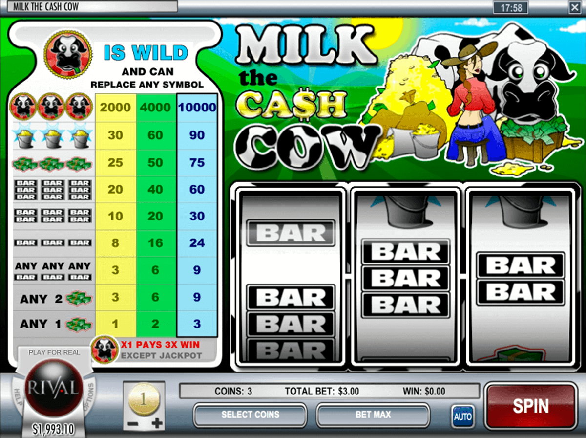 Review casino cash cow directions to wheeling casino and racetrack
