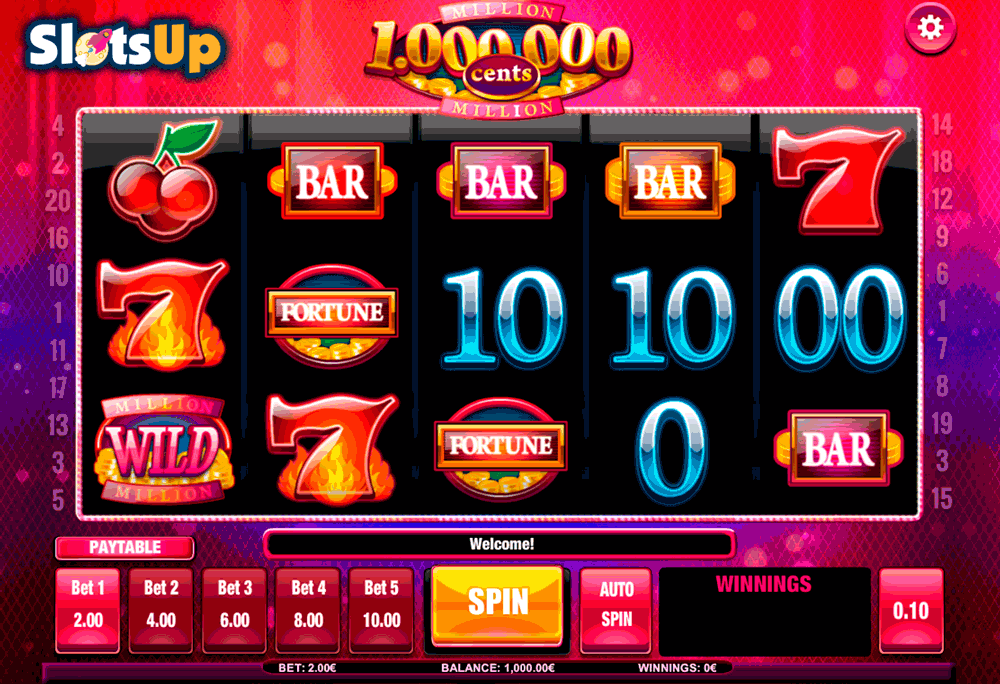 Million Cents™ Slot Machine Game to Play Free in iSoftBets Online Casinos