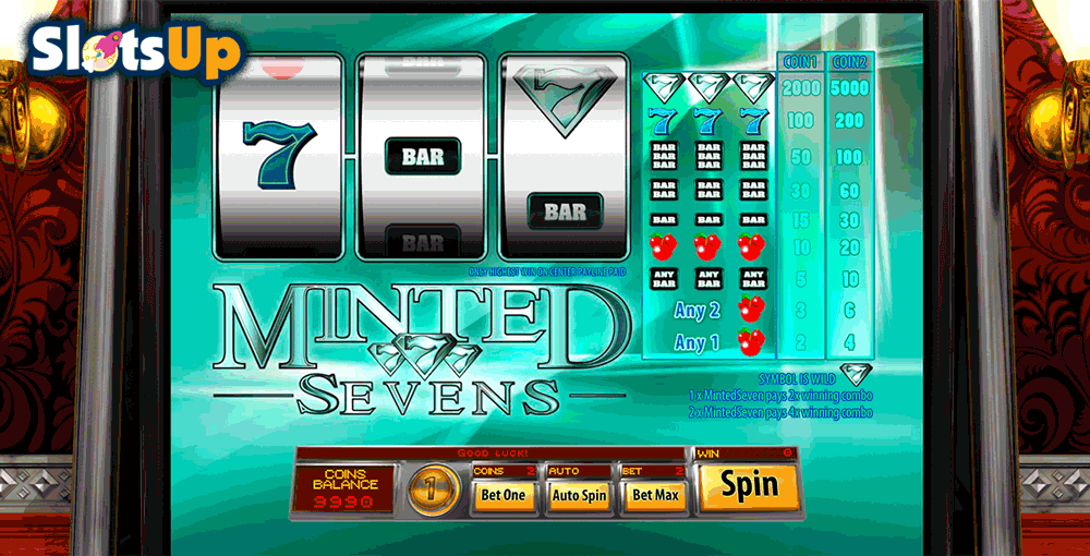 minted sevens saucify casino slots