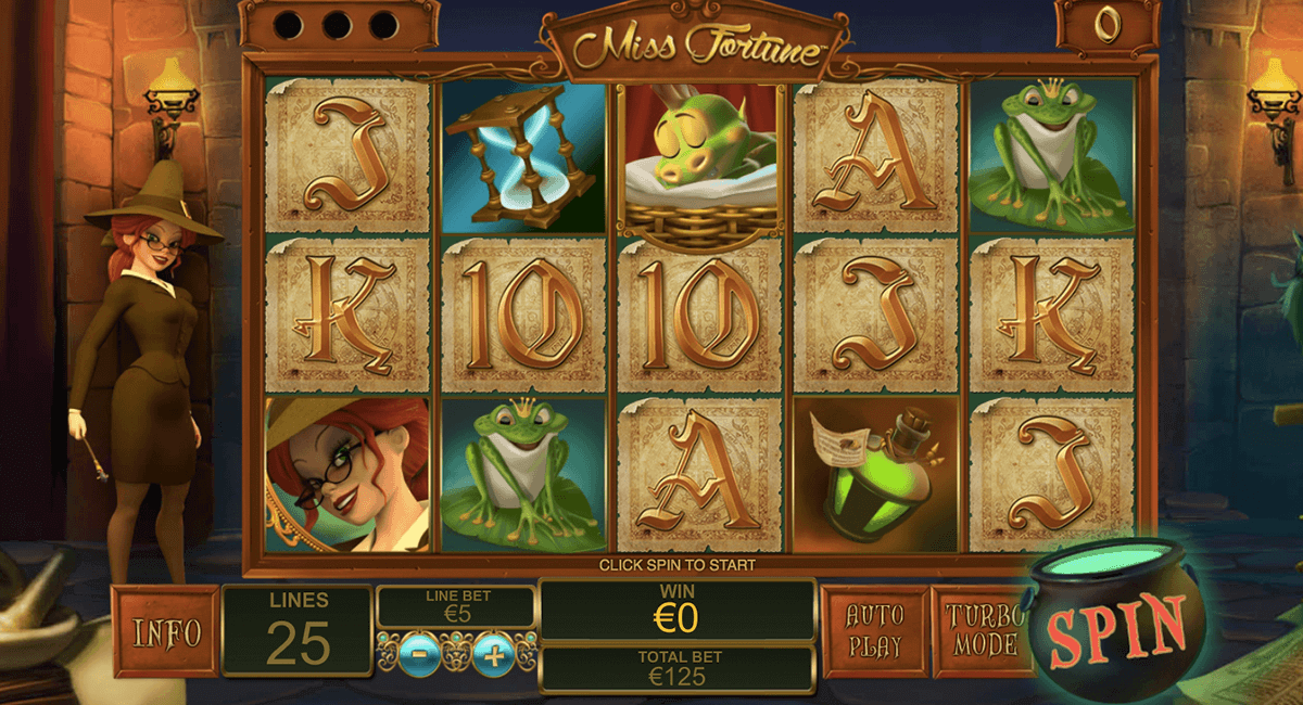 Play Miss Fortune slots at Casino.com Canada