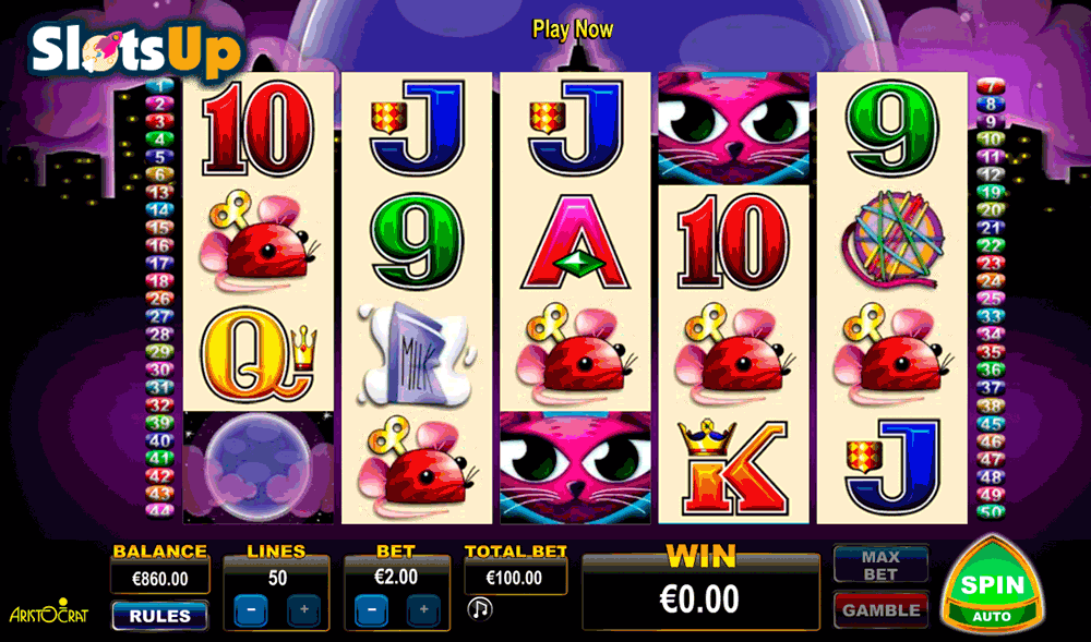 MISS KITTY ARISTOCRAT CASINO SLOTS