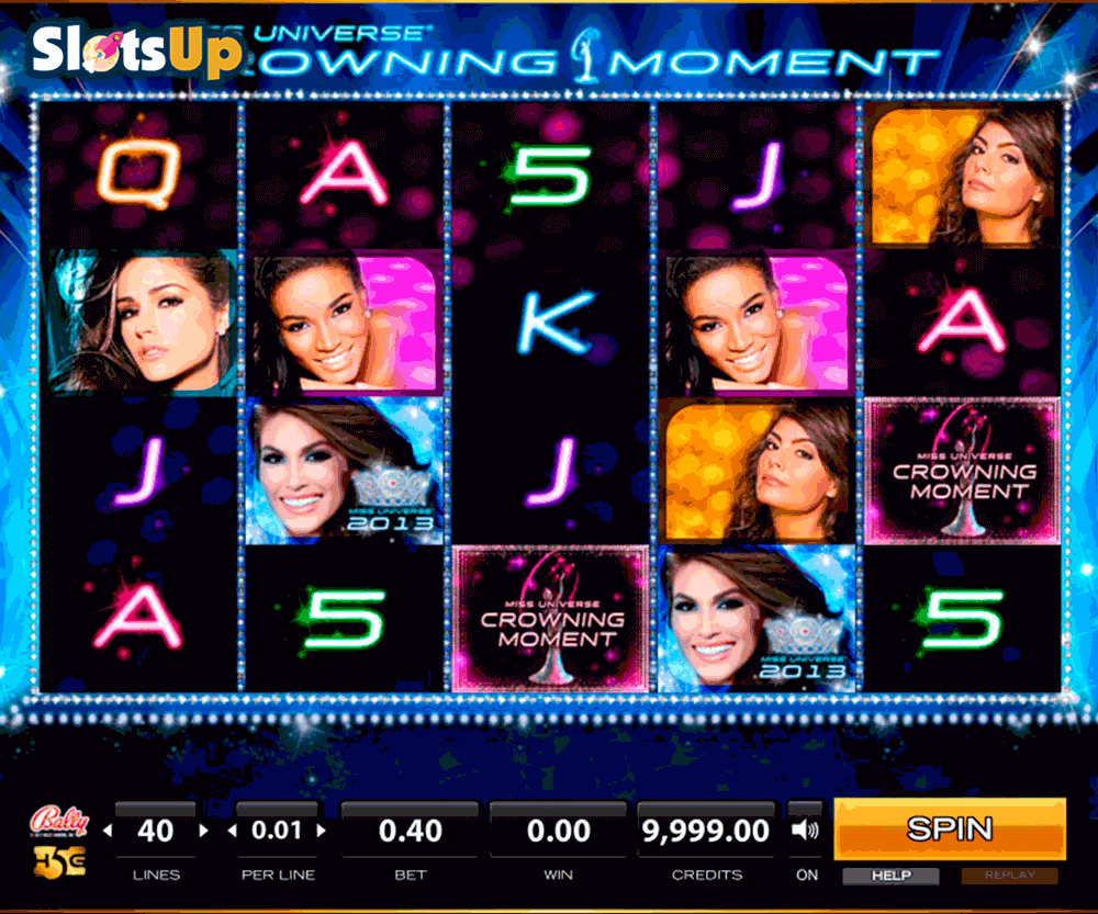 MISS UNIVERSE CROWNING MOMENT HIGH5 CASINO SLOTS