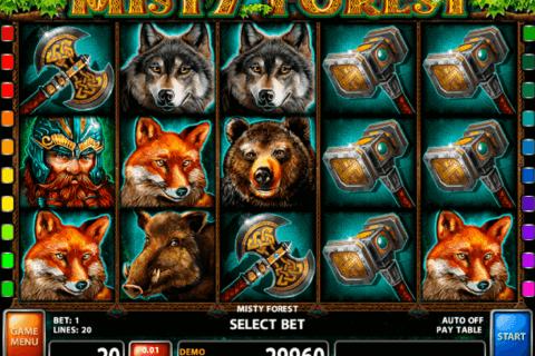 misty forest casino technology slot machine