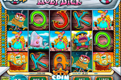 moby dick multislot casino slots 480x320