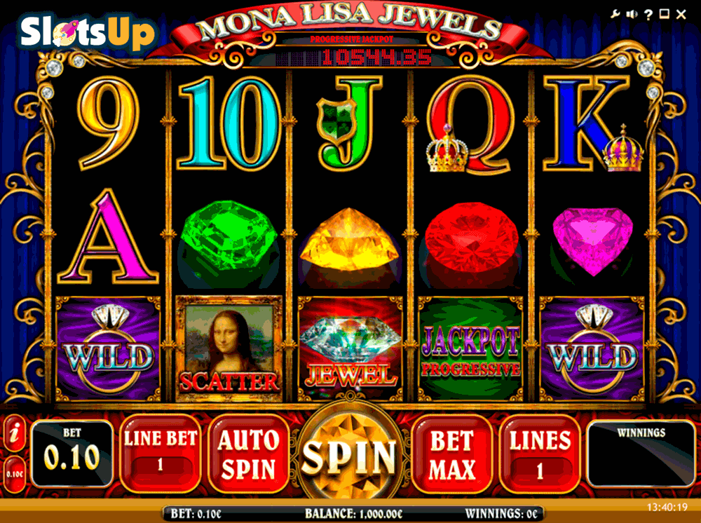 mona lisa jewels isoftbet casino slots