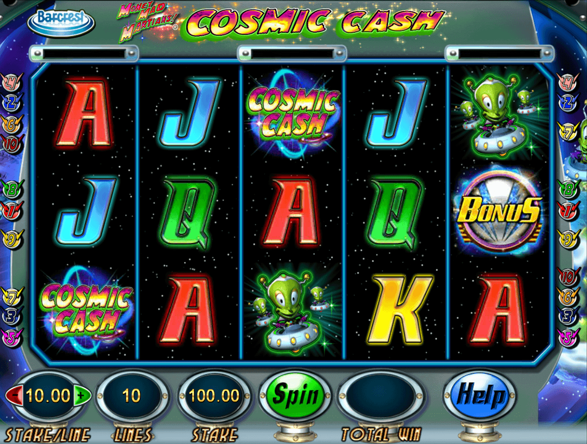 Money Mad Martians™ Slot Machine Game to Play Free in Barcrests Online Casinos