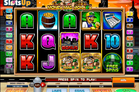 money mad monkey microgaming casino slots