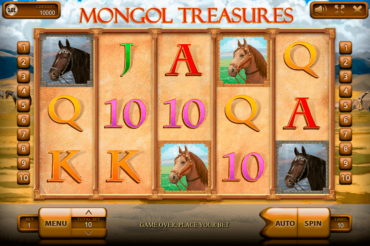 mongol treasures endorphina