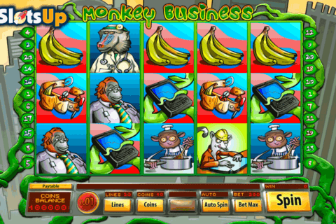 MONKEY BUSINESS SAUCIFY CASINO SLOTS