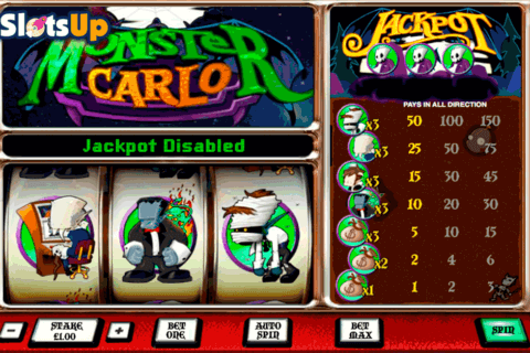 monster carlo openbet casino slots