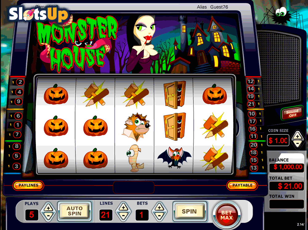 Monster House Slot Machine Online ᐈ Vista Gaming™ Casino Slots