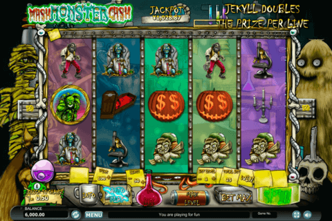MONSTER MASH CASH HABANERO SLOT MACHINE