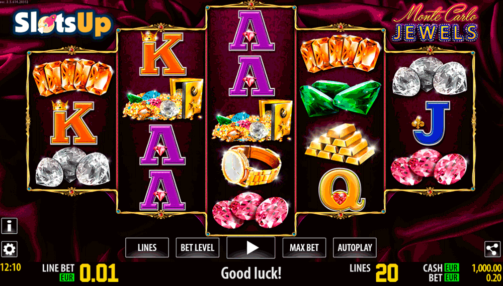 MONTE CARLO JEWELS HD WORLD MATCH CASINO SLOTS