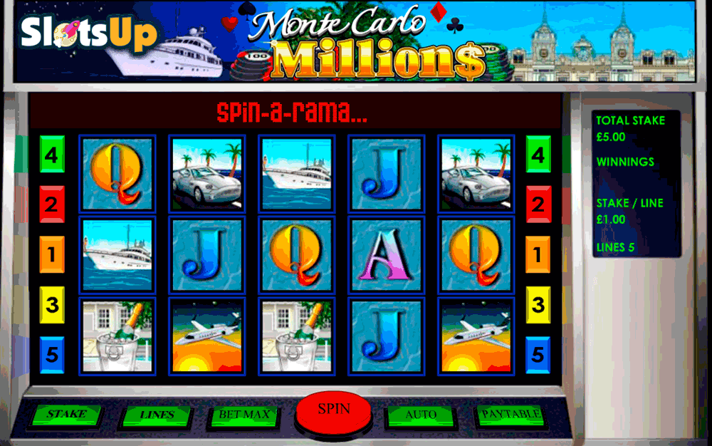 Monte Carlo Slots - Try this Online Game for Free Now