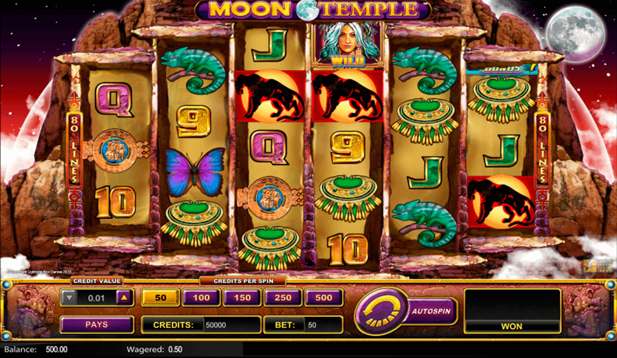 Moon Temple™ Slot Machine Game to Play Free in Lightning Box Gamess Online Casinos