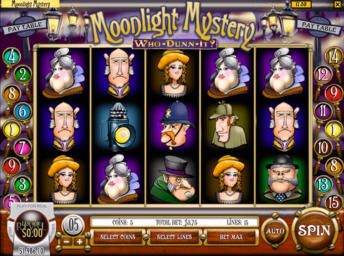 moonlight mystery rival casino slots