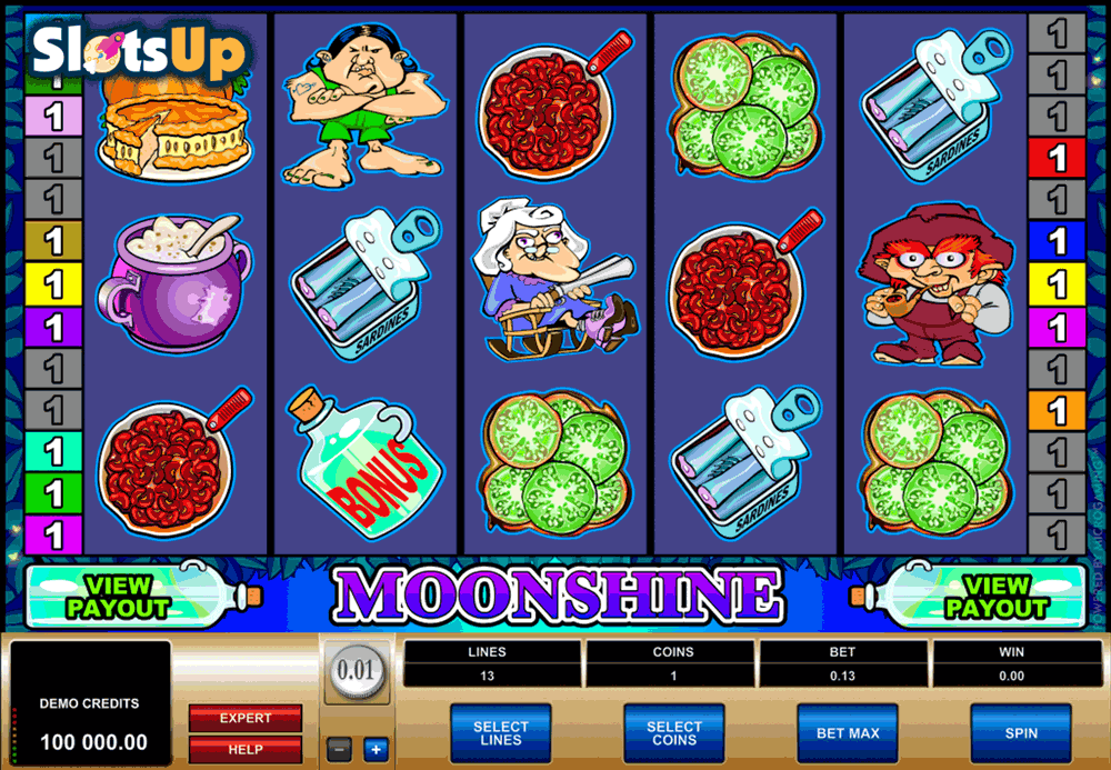 Moonshine Slot Machine - Win Big Playing Online Casino Games