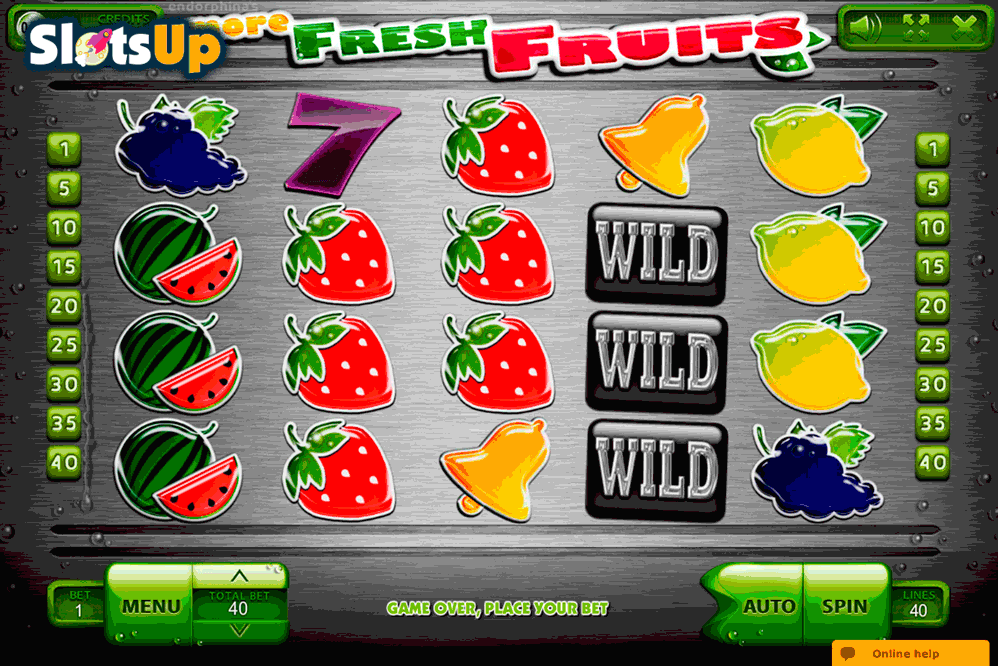 Sparkling Fresh Slot - Play Endorphina Slots for Free