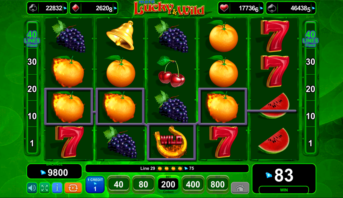 Play Lucky & Wild Slot Game Online | OVO Casino