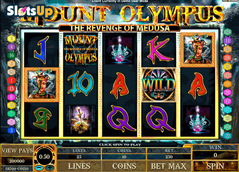 MOUNT OLYMPUS MICROGAMING CASINO SLOTS