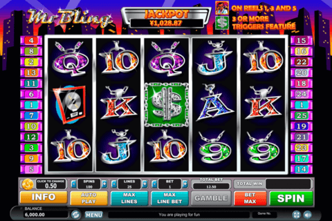 mr bling habanero slot machine 480x320