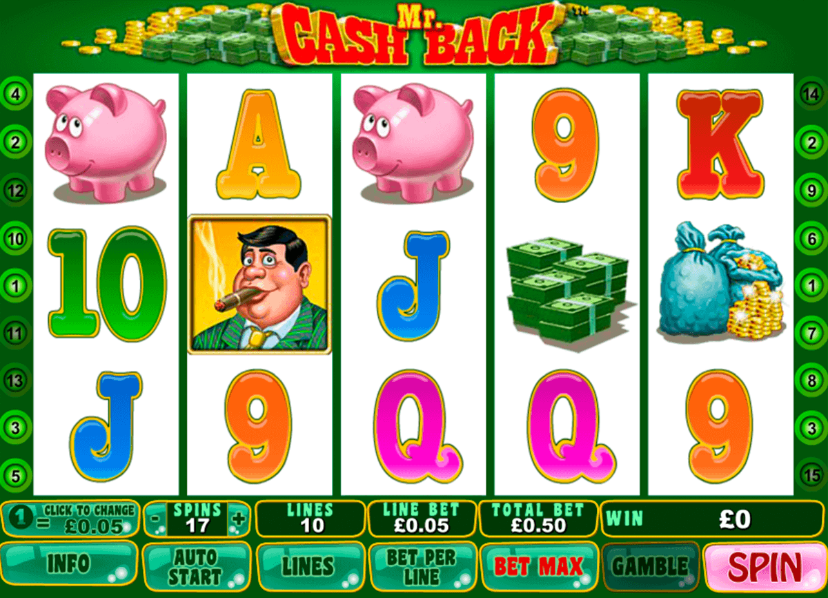 Play Mr. Cashback Slots Online