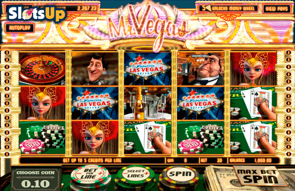 Mr Vegas Slot Game - Play Free Betsoft Slots