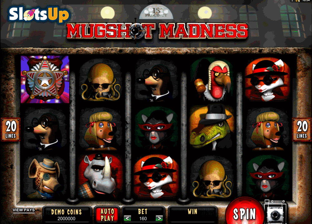 Mugshot Madness™ Slot Machine Game to Play Free in Microgamings Online Casinos