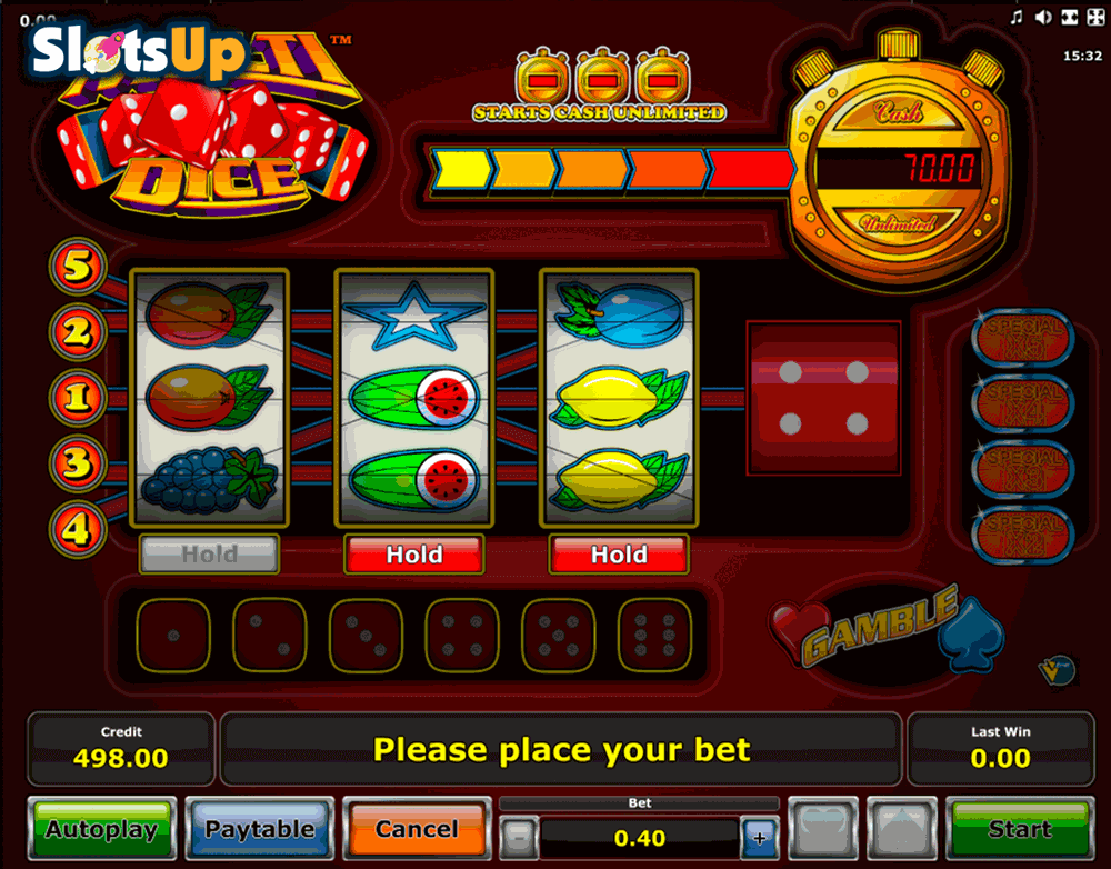 Play Multi Dice Slot Game Online | OVO Casino