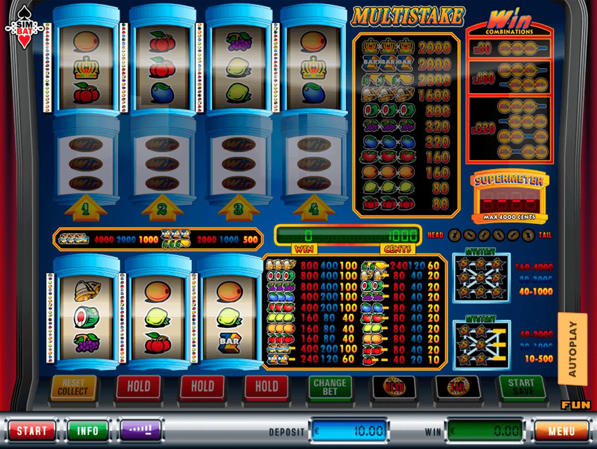 Multistake Slot Machine - Play Simbat Casino Games Online