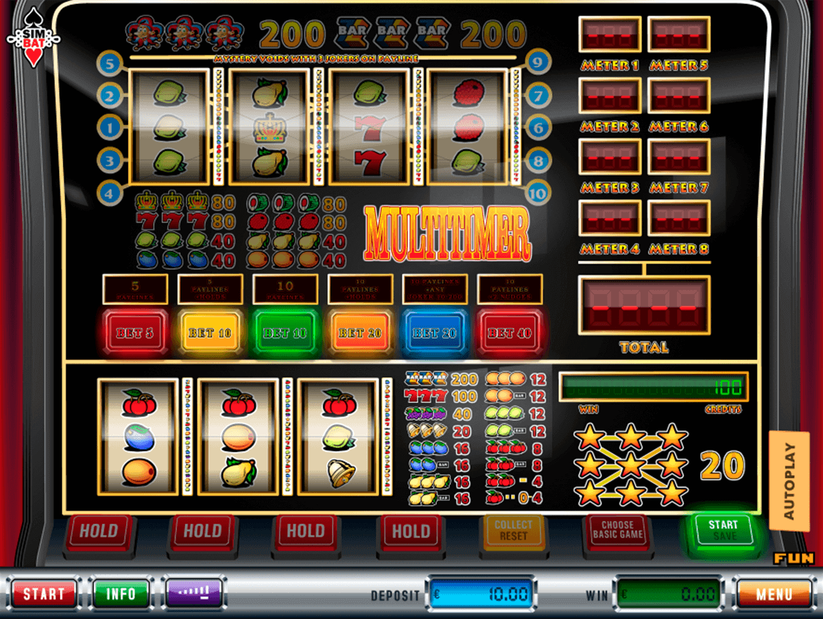 Multitimer Slot - Play the Free Casino Game Online