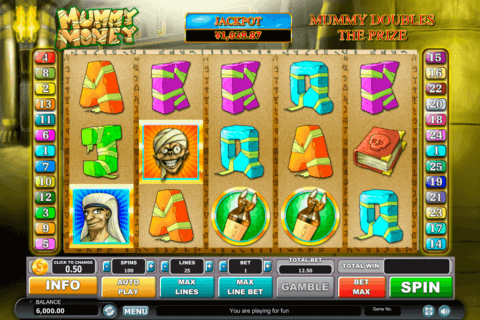 mummy money habanero slot machine