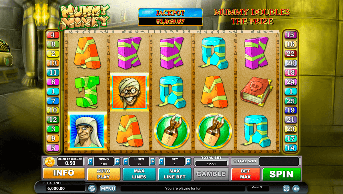 free slot machine mummy