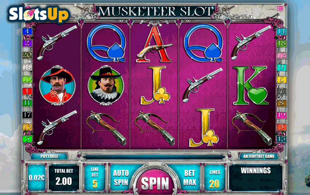 Musketeer™ Slot Machine Game to Play Free in iSoftBets Online Casinos
