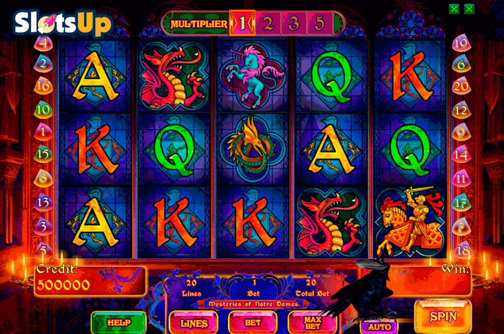mysteries of the notre dames playson casino slots