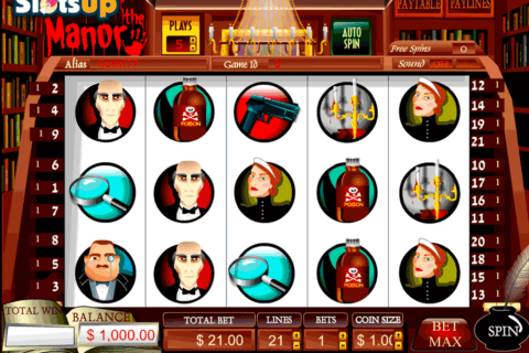 MYSTERY AT THE MANOR VISTA GAMING CASINO SLOTS