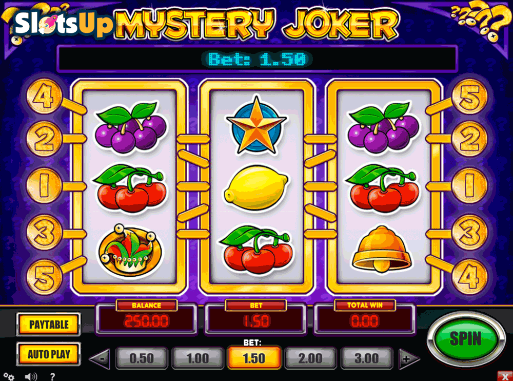 Mystery Joker™ Slot Machine Game to Play Free in Playn Gos Online Casinos