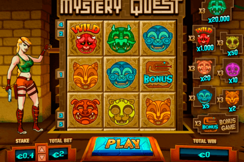 MYSTERY QUEST PARIPLAY