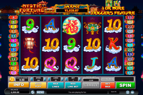 mystic fortune habanero slot machine 480x320