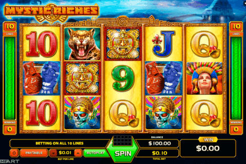 MYSTIC RICHES GAMEART SLOT MACHINE