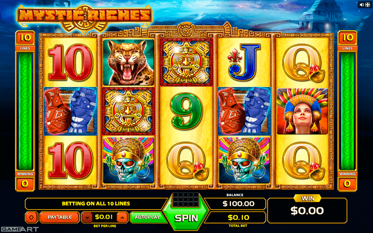 Mystic Riches Slot Machine - Play Online or on Mobile Now