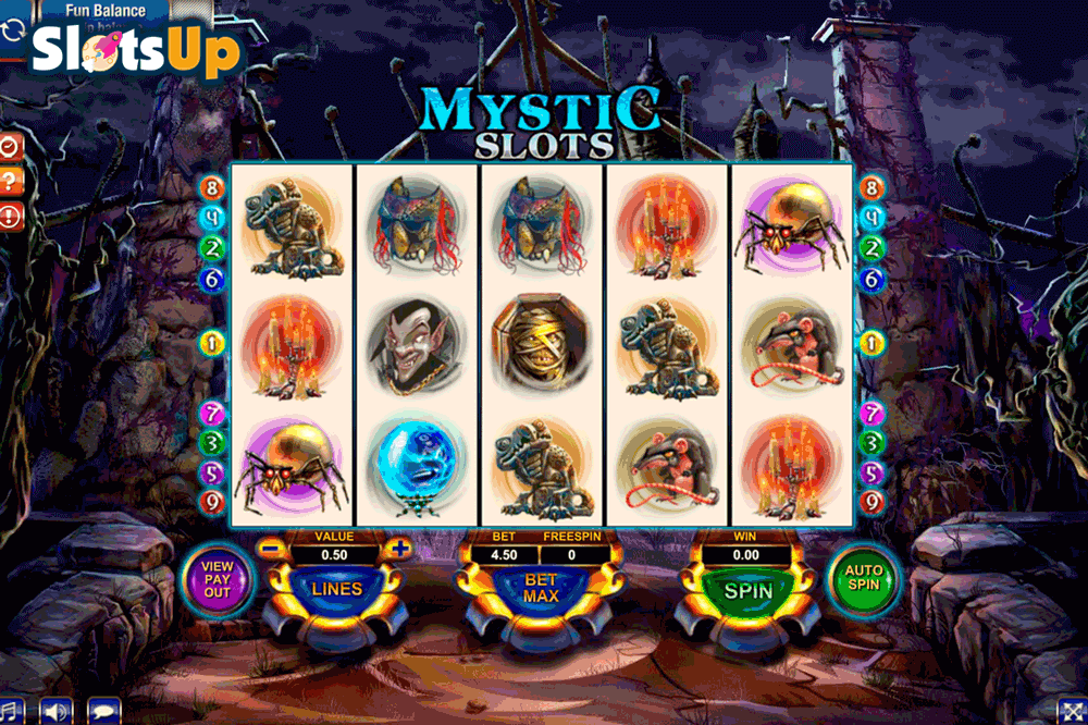 Mystic Books Slot Machine - Play this Video Slot Online