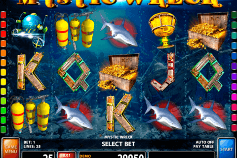 MYSTIC WRECK CASINO TECHNOLOGY SLOT MACHINE