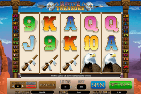 native treasure amaya casino slots