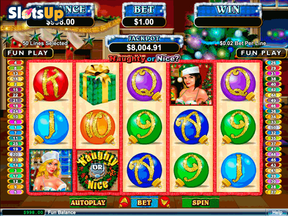 Naughty Girls Cabaret Slot Machine - Play Online for Free