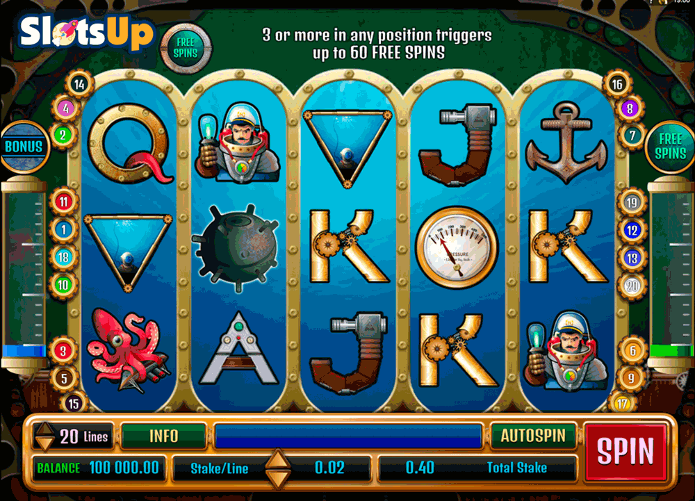 Nauticus Slot - Play the Free Geco Gaming Casino Game Online