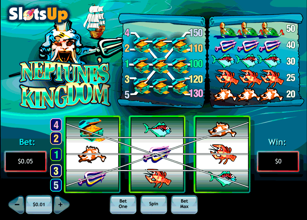 NEPTUNES KINGDOM PLAYTECH CASINO SLOTS